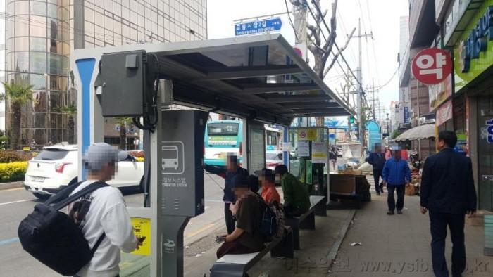 4. 여수시, '시내버스 정류소 에어커튼' 시범 운영.jpg