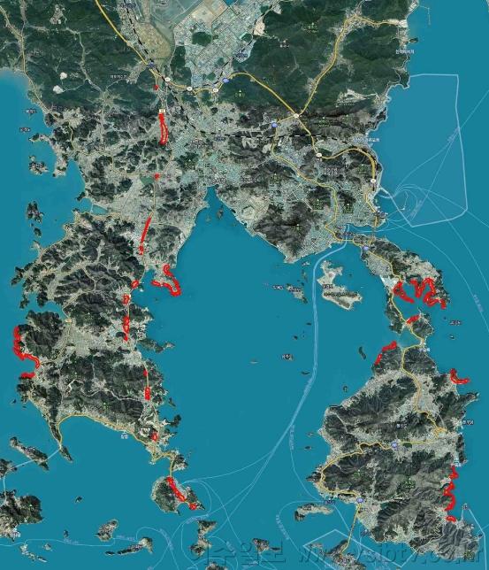 여수시, 국지도 22호선 및 해안가 '경관지구 지정' 관리될 전망.png