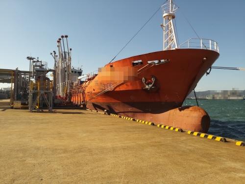 여수해경, 해상에 불법으로 유해액체물질 및 기름 세정수를 배출한 탱커선 적발