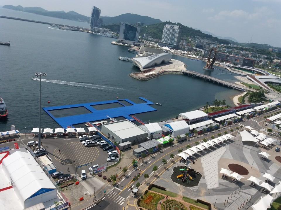 광주세계수영대회 여수 오픈워터경기 13일부터 시작