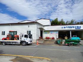 """여수시 농가 농기계 구입 부담 줄이고, """"수확철, 휴일에도 농기계 빌려드려요~"""""""