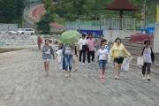 시전초등학교 울림봉사단 웅천해변 정화 활동, 깨끗한 여수바다 만들기