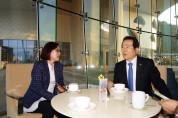 정세균 더불어민주당 국회의원(전 국회의장) 여수일보와 인터뷰 통해  여수현안에 대한 다양한 의견 전달