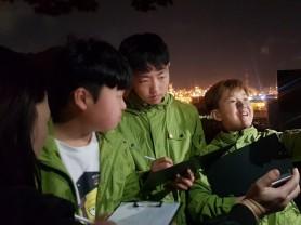 6일 저녁8시, 사)ECO-PLUS21 어린이 환경지킴이 변함없이 국가산단 내 환경모니터링