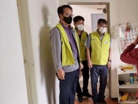 시전동 지역사회보장협의체, 추석맞이 저소득층 후원물품 전달